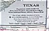 Click to view larger image of Antique Map Texas 1906 Large Fold Out Size (Image2)