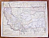 Click to view larger image of Antique Map Utah Montana 1906 Nice Colors (Image3)