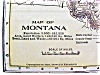 Click to view larger image of Antique Map Utah Montana 1906 Nice Colors (Image4)