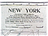 Click to view larger image of Antique Map New York 1906 Large Fold Out (Image3)