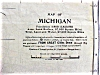 Click to view larger image of Antique Map Michigan 1906 Large Fold Out (Image2)