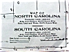 Click to view larger image of Antique Map North & South Carolina Georgia 1906 (Image2)
