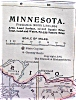 Click to view larger image of Antique Map Minnesota Kentucky Tennessee 1906 (Image2)
