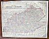 Click to view larger image of Antique Map Minnesota Kentucky Tennessee 1906 (Image3)