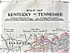 Click to view larger image of Antique Map Minnesota Kentucky Tennessee 1906 (Image4)