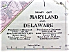 Click to view larger image of Antique Map Maryland Delaware Virginia West Virginia (Image2)