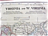 Click to view larger image of Antique Map Maryland Delaware Virginia West Virginia (Image4)