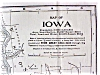 Click to view larger image of Antique Map Iowa 1906 Large Fold Out (Image2)