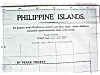 Click to view larger image of Antique Map Philippine Islands 1906 Large Fold Out (Image2)