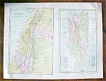 Click to view larger image of Antique Map Puerto Rico British Columbia 1906 (Image1)