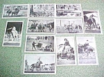 Click here to enlarge image and see more about item PO009: Postcards Stryker's Photogloss Rodeo Series Gene Autry