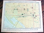 Antique Map Washington DC Virginia 1912