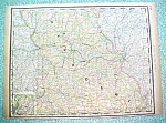 Click here to enlarge image and see more about item RM189011: Antique Map Missouri 1890 Rand McNally