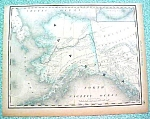 Antique Map Alaska dtd 1890 Rand McNally