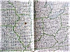Click to view larger image of Map US Postal Rates 1912 Large Foldout (Image3)