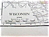 Click to view larger image of Map Wisconsin Minnesota 1912 Rand McNally (Image2)
