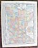 Click to view larger image of Map Wisconsin Minnesota 1912 Rand McNally (Image3)