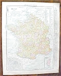 Click to view larger image of Map France Netherlands 1912 (Image1)