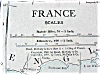 Click to view larger image of Map France Netherlands 1912 (Image2)