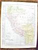 Click to view larger image of Map Argentina Chile Ecuador Peru 1912 (Image3)