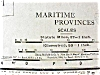 Click to view larger image of Antique Map Manitoba Maritime Provinces 1912 (Image4)