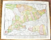 Click to view larger image of Antique Map Quebec Ontario 1912 (Image3)