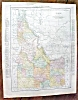 Click to view larger image of Antique Map Montana Idaho 1912 (Image3)