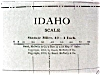 Click to view larger image of Antique Map Montana Idaho 1912 (Image4)