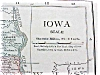 Click to view larger image of Antique Map Iowa Missouri 1912 Rand McNally (Image2)