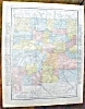Click to view larger image of Antique Map Colorado New Mexico 1912 Rand McNally (Image3)