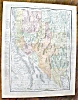 Click to view larger image of Antique Map Arizona Nevada 1912 Rand McNally (Image3)