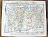 Click to view larger image of Antique Map Oregon Washington 1912 (Image3)