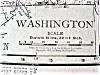 Click to view larger image of Antique Map Oregon Washington 1912 (Image4)