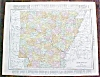 Click to view larger image of Antique Map Arkansas & Kansas City 1912 Rand (Image3)