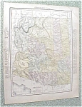 Click to view larger image of Antique Map Arizona Nevada 1912 Antique (Image1)