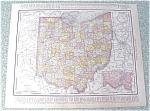 Click to view larger image of Map Ohio Cincinnati 1912 Antique (Image1)