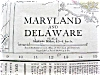 Click to view larger image of Antique Map Maryland Delaware & Baltimore 1912 (Image2)