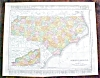 Click to view larger image of Map West Virginia North Carolina 1912 (Image3)