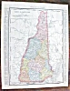 Click to view larger image of Map Maine New Hampshire 1912 (Image3)