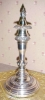 Click to view larger image of Silver Candlestick Sheffield + Snuffer Cap (Image5)