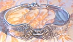 Click to view larger image of Spoon Bracelet Silverplate Rose International Silver (Image1)