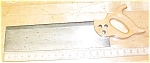 Click to view larger image of Craftsman Miter / Back Saw Sharpened 16 inch Mitre (Image1)