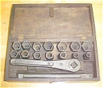 Click to view larger image of Mossberg No. 13 Socket Ratchet Wrench Set + Box (Image1)