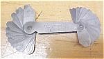 Click to view larger image of Starrett No. 178A  Radius Gage Set (Image1)