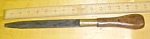 Click to view larger image of Antique Wood Handled Screwdriver 15 Inch (Image1)