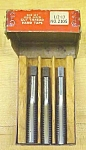 Click to view larger image of Vermont Taps Boxed Tap Set 1/2-13 Nice Vintage Set! (Image1)