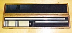 Click to view larger image of Vernier Depth Gage Gauge w/ Fitted Case Unique! (Image1)
