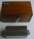 Click to view larger image of Brown & Sharpe Magnetic Block No. 760 & Fitted Case (Image1)