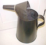 Tin Oil Liquid Can 4 qt. w/Spout & Handle