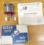 Click here to enlarge image and see more about item T33608: Ocean City Level Wind Fishing Reel No. 940F & Box